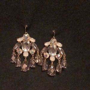 Jewelry - Gorgeous Crystal Bling Earrings